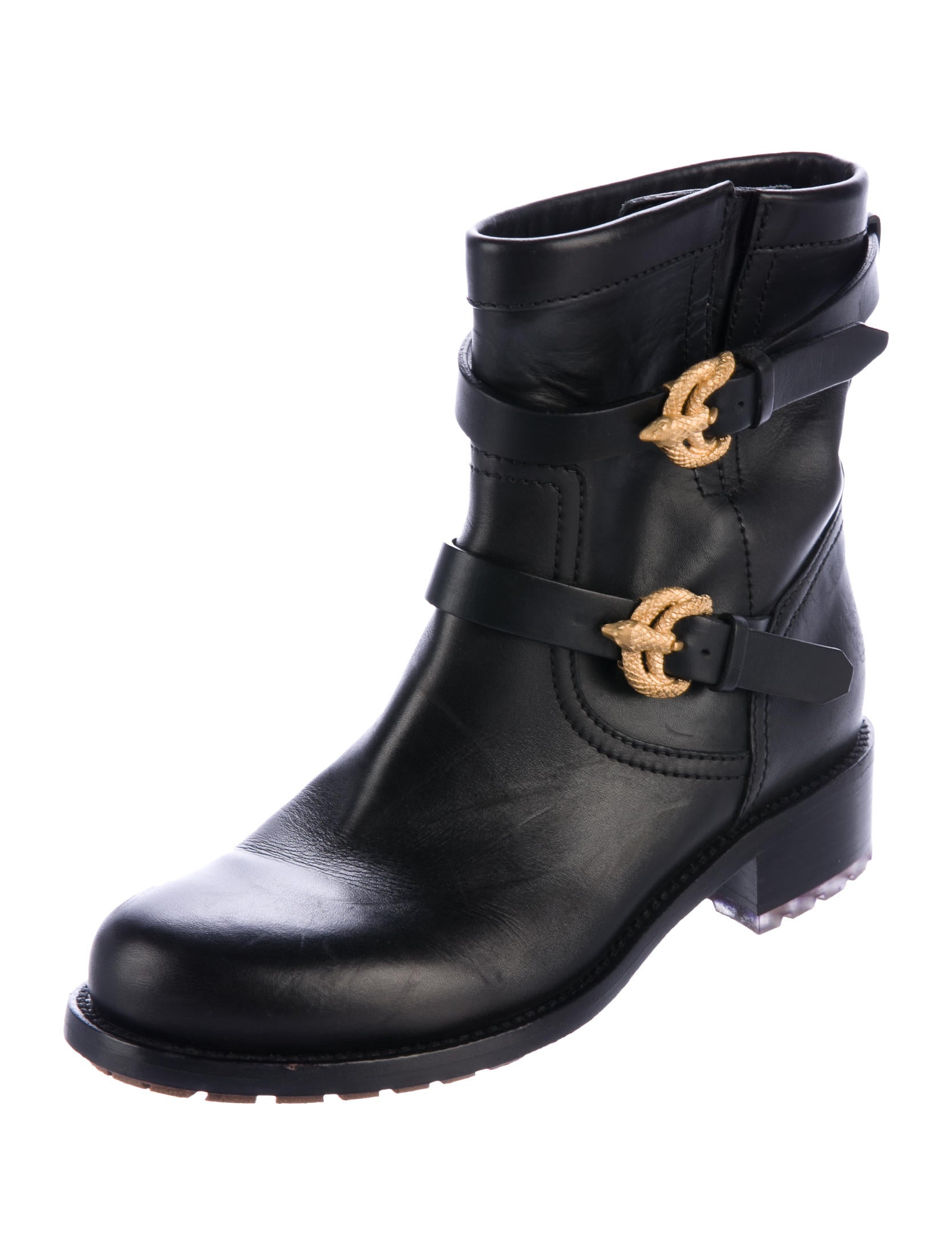 valentino animalia serpent ankle boots shoes val68493 the realreal. Black Bedroom Furniture Sets. Home Design Ideas
