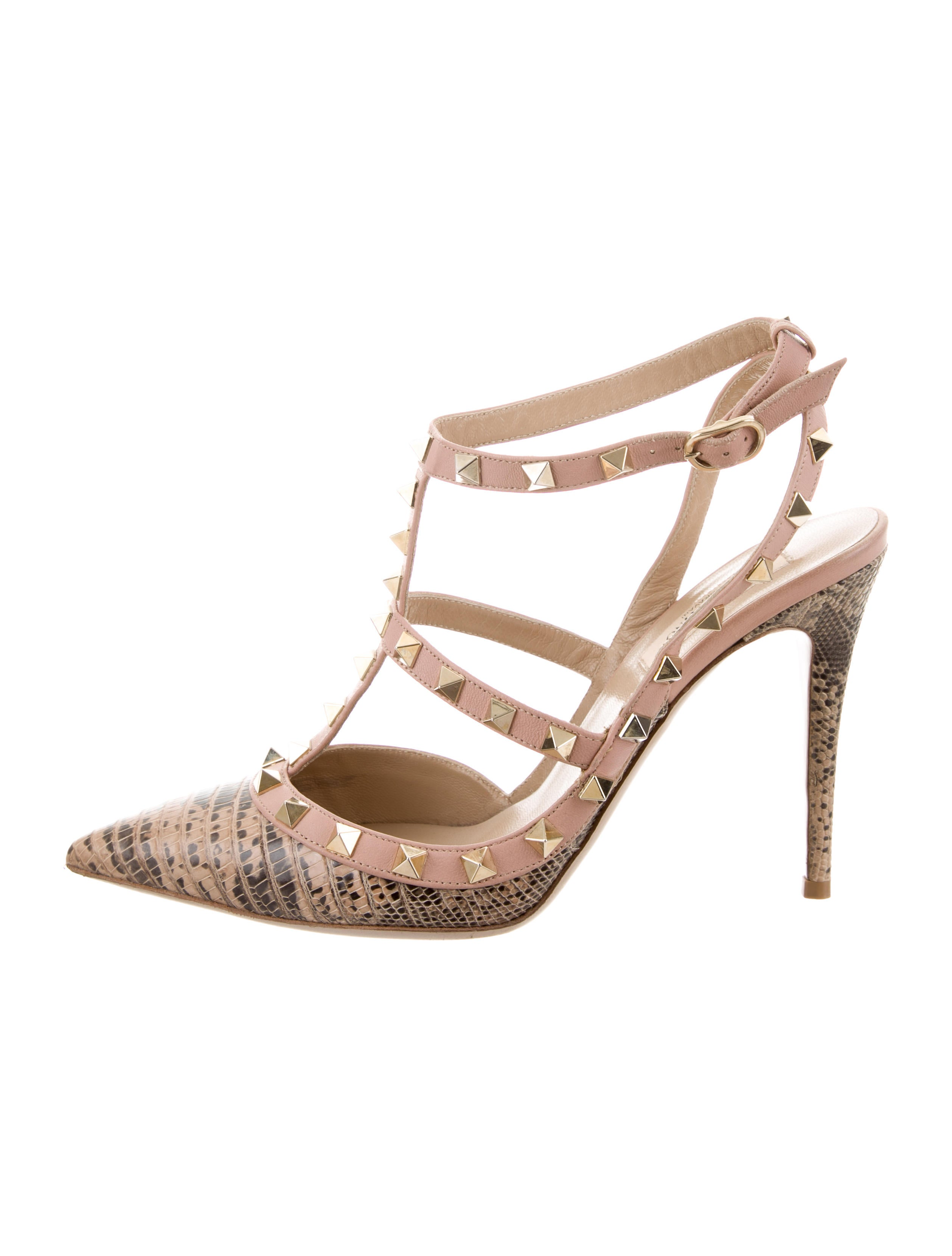 Valentino Embossed Rockstud Pumps newest for sale for sale official site shipping discount authentic websites cheap with credit card 52dK4KIGXm