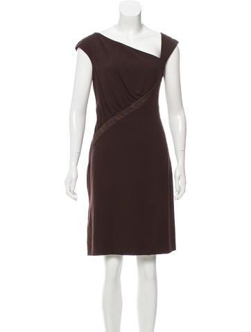 Valentino Virgin Wool Shift Dress None