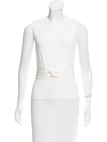 Valentino Sleeveless Knit Top None