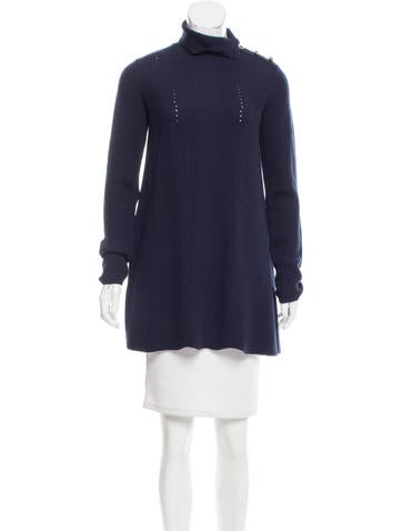 Valentino Wool Sweater Dress None