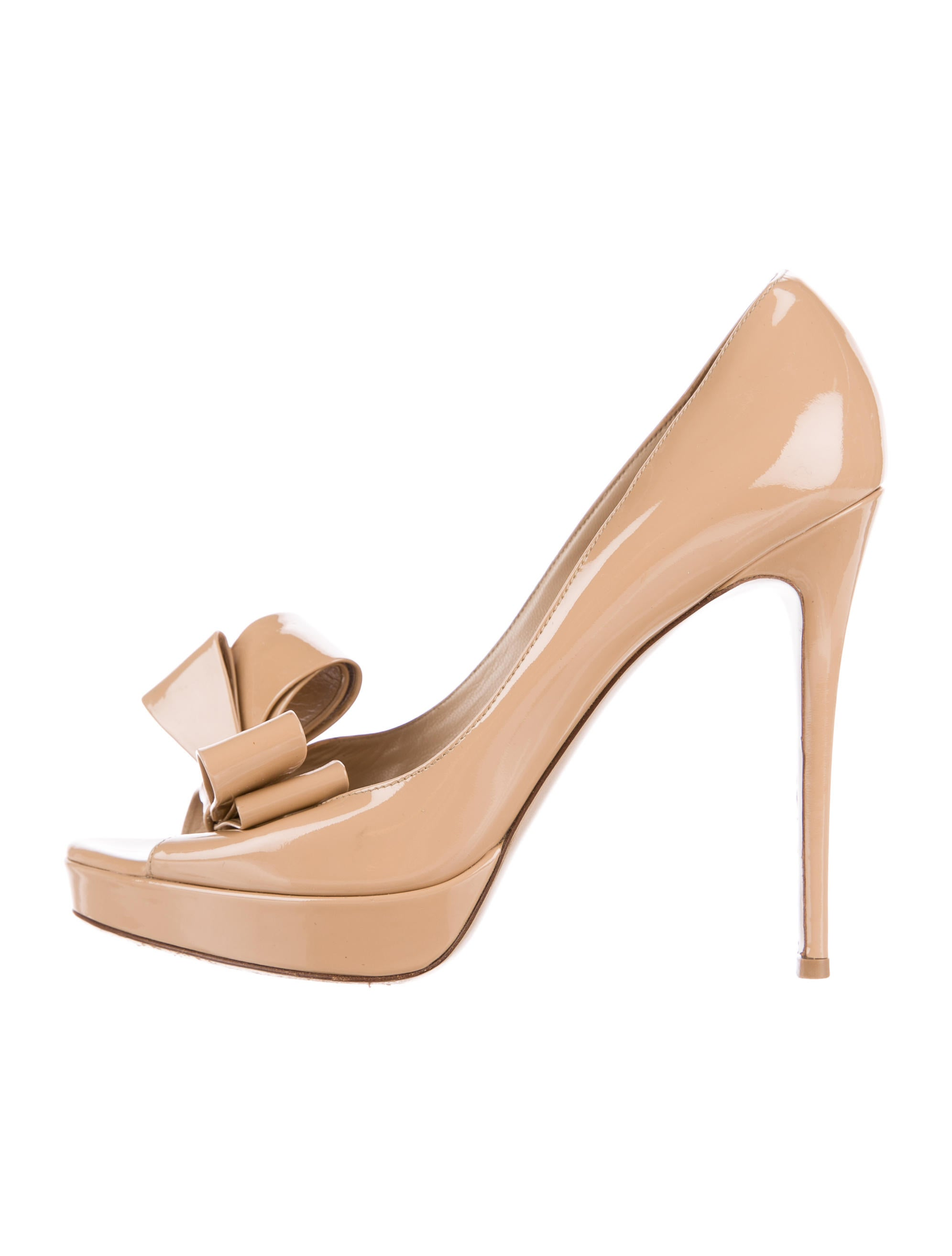 Valentino Bow Accented Leather Pumps clearance in China low cost cheap online recommend cheap price clearance sneakernews clearance latest deck5sI