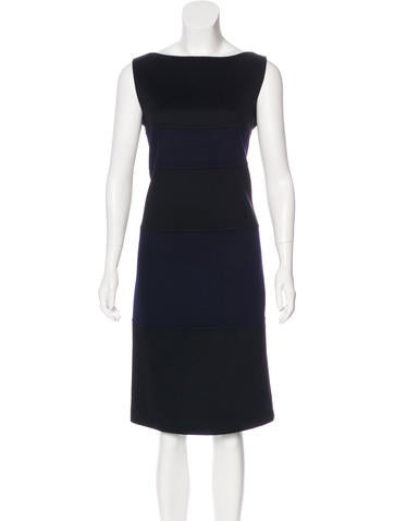 Valentino Wool Sleeveless Dress None