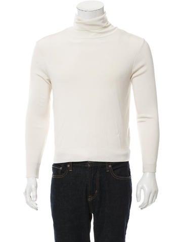 Valentino Stud-Accented Turtleneck Sweater None