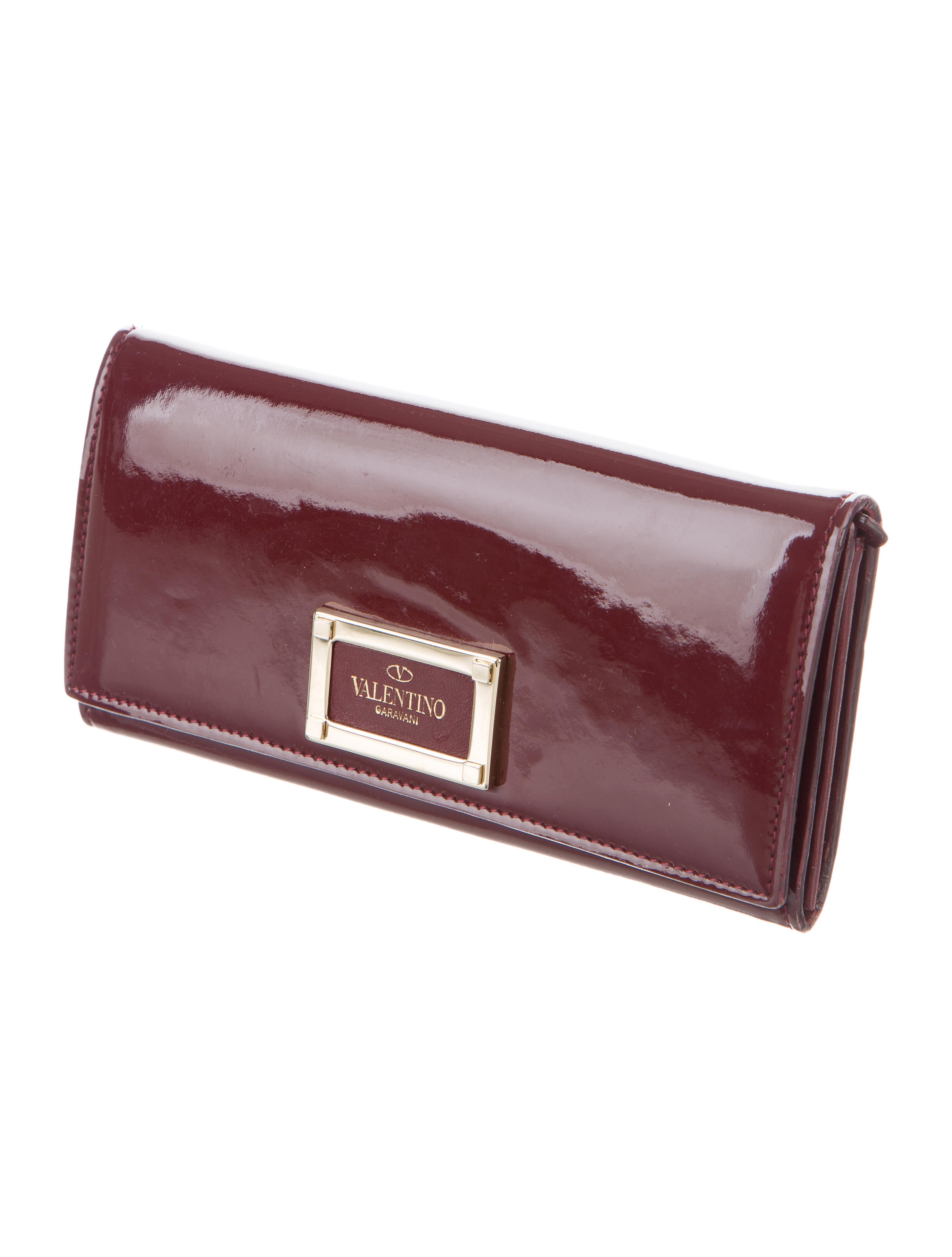 Valentino Patent Leather Wallet - Accessories - VAL70233 | The RealReal