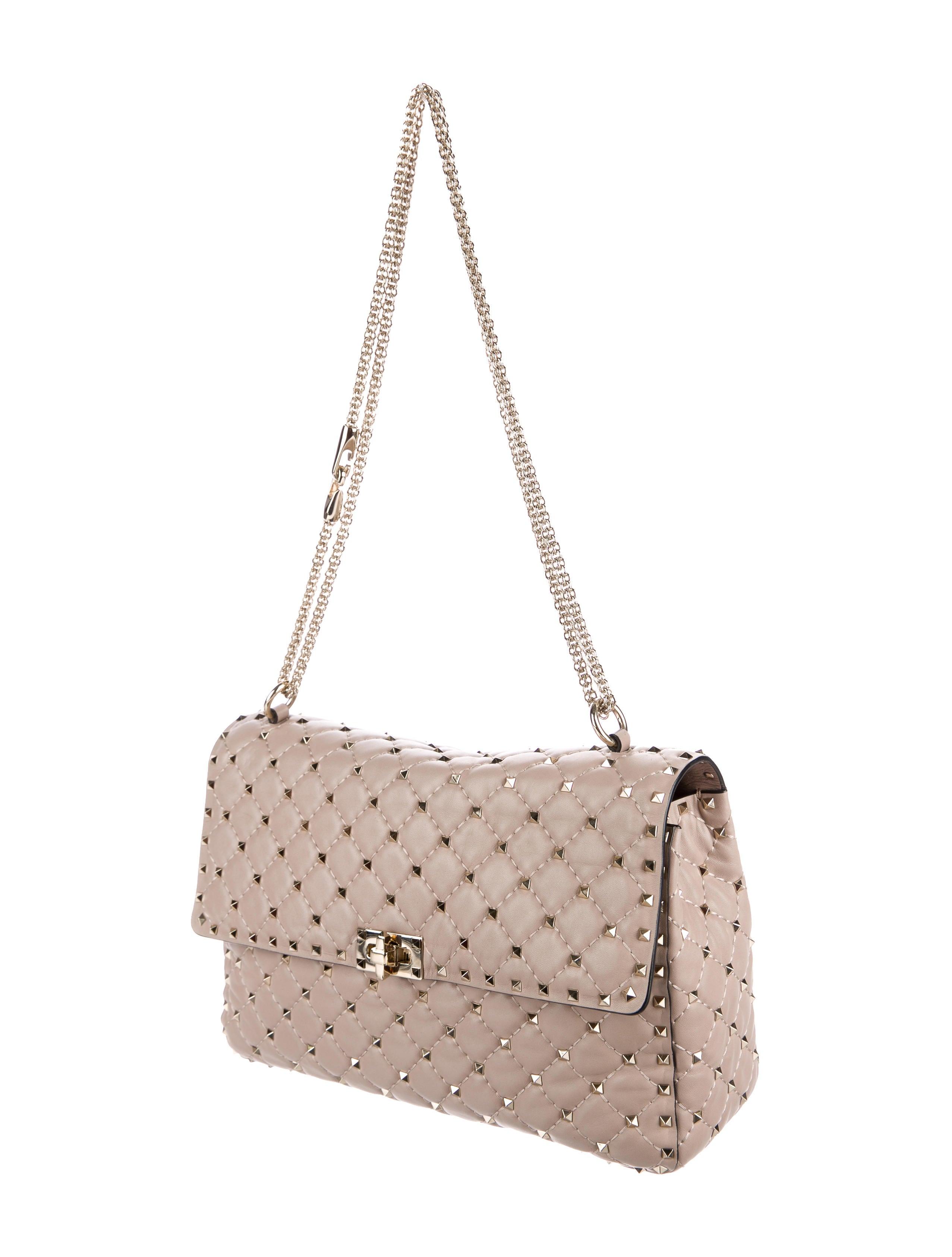 Valentino 2017 Rockstud Spike Chain Bag Handbags
