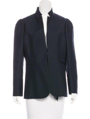 Valentino Wool & Silk Jacket None