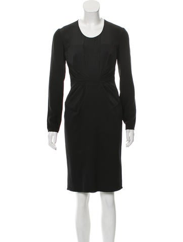 Valentino Silk Midi Dress None