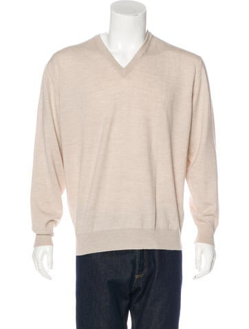 Valentino Wool V-Neck Sweater None