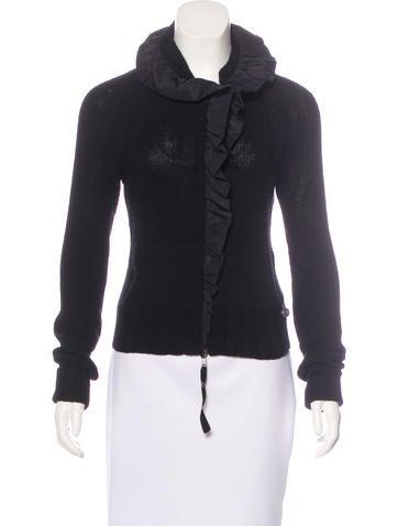 Valentino Wool Ruffled Sweater None