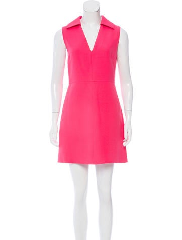 Valentino Wool Mini Dress None