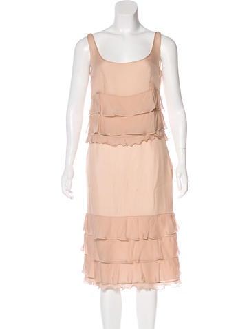 Valentino Silk Skirt Set None