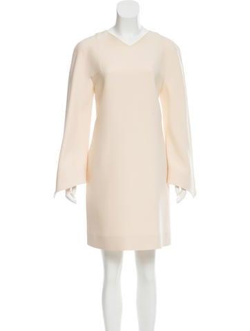 Valentino Long Sleeve Mini Dress None