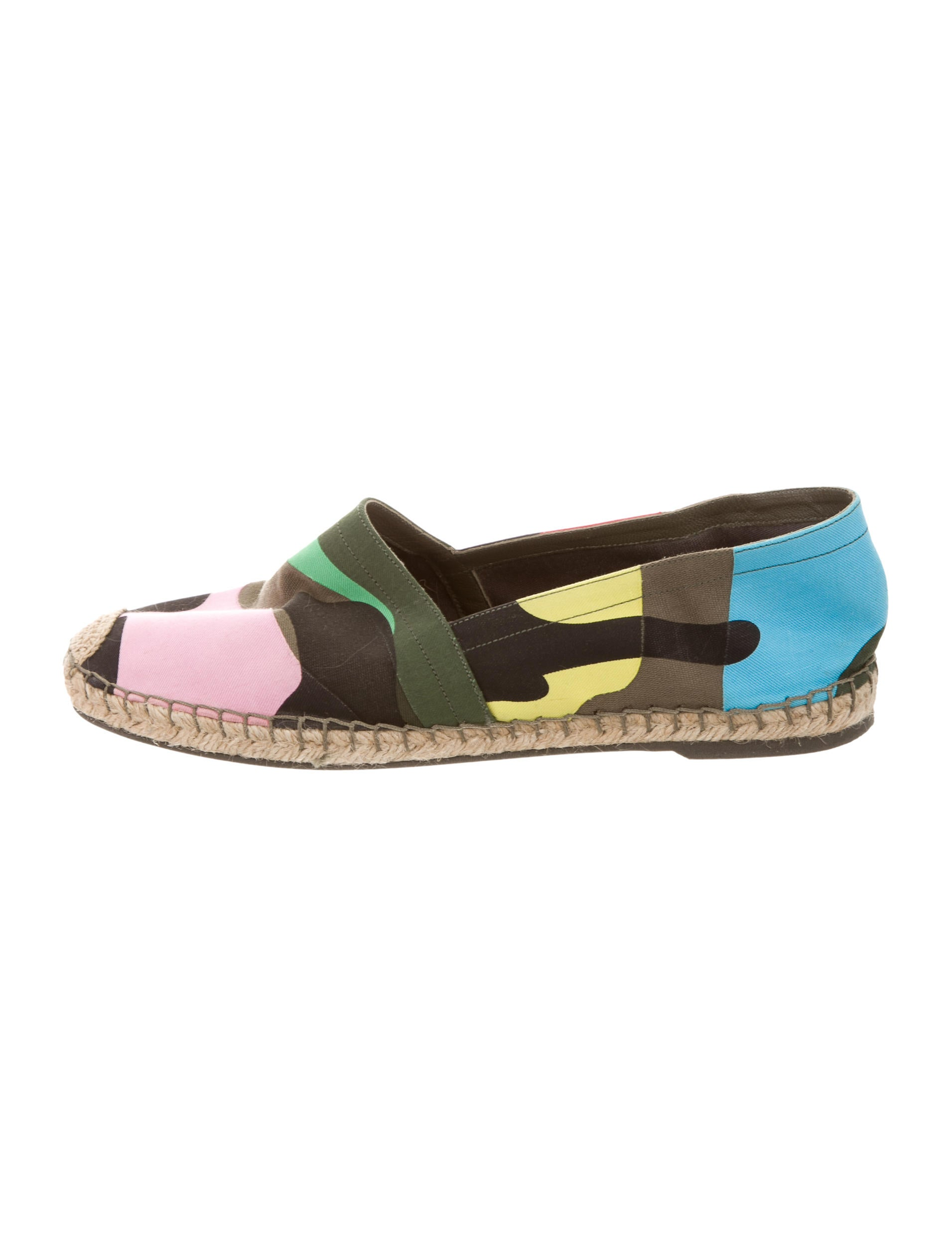 outlet best seller Valentino Psychedelic Camo Espadrilles many kinds of for sale Manchester new online 41tCGS