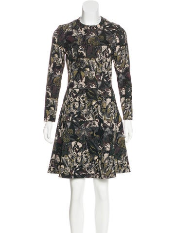 Valentino Camubutterfly Knit Dress None