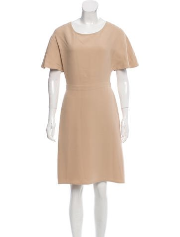 Valentino Draped Silk Dress None
