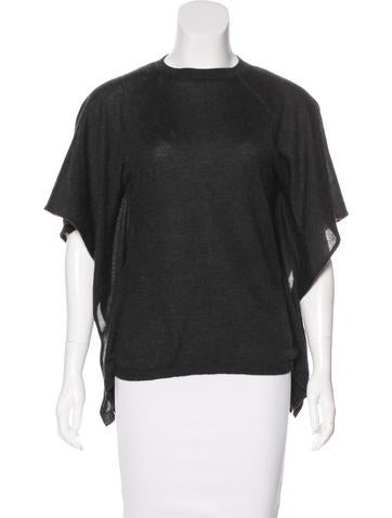 Valentino Cashmere & Silk-Blend Top None