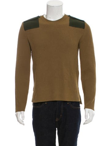 Valentino Rib Knit Utility Sweater None