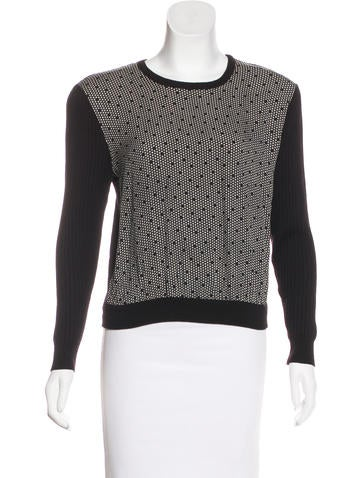Valentino Silk & Wool Sweater None