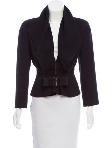 Valentino Long Sleeve Wool Jacket None