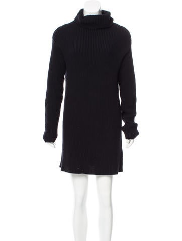 Valentino Virgin Wool Sweater Dress None