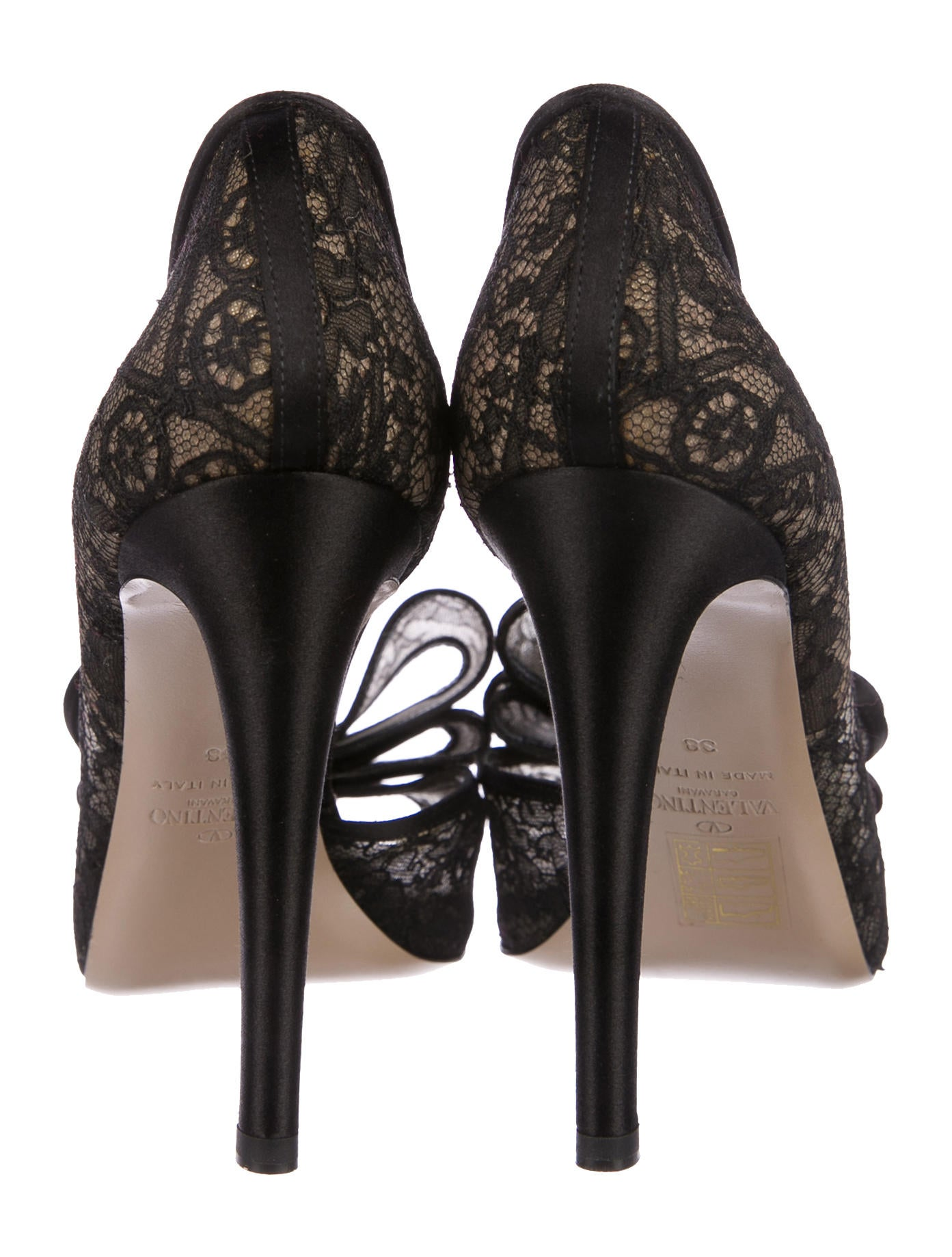 7d70a3d9fae Valentino Couture Bow Half d Orsay Pumps - Shoes - VAL76252