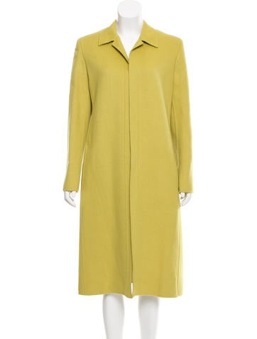 Valentino Long Wool-Cashgora Coat w/ Tags None