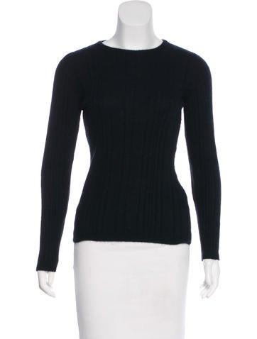 Valentino Rib Knit Sweater None