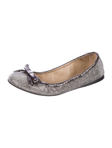 classic cheap price Valentino Microstud Bow Flats outlet wiki sast online free shipping under $60 G8tgb