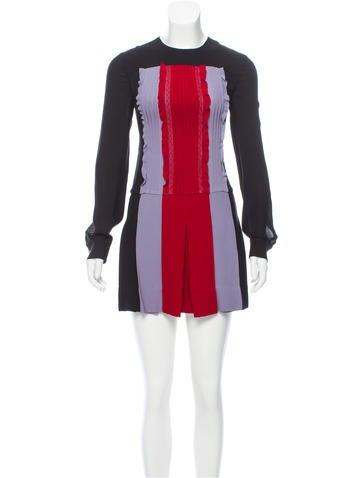 Valentino Silk Mini Dress None