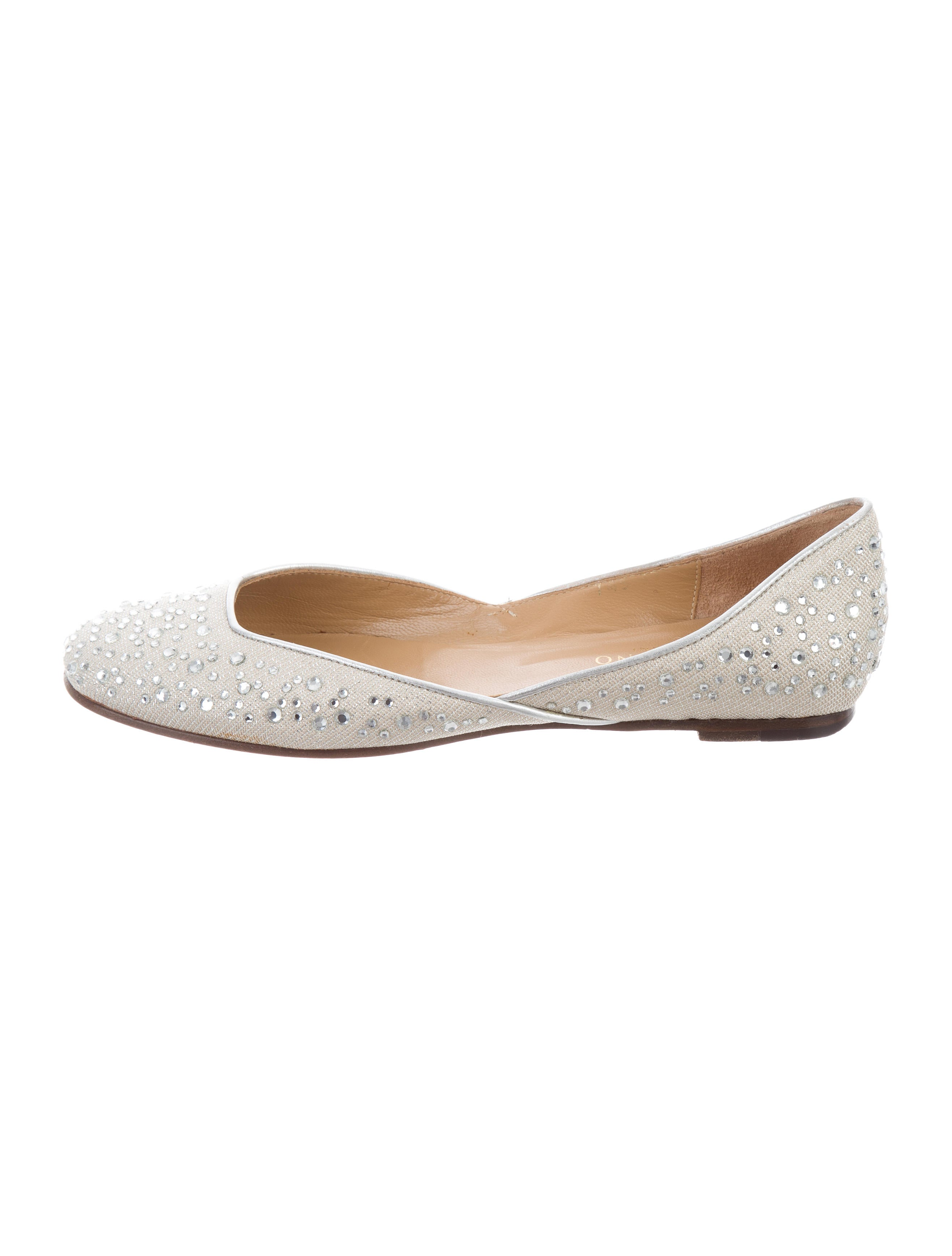 Valentino Woven Embellished Flats perfect cheap online buy cheap pay with paypal cheap sale find great sale wide range of pyb4X9i