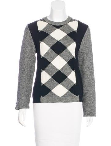 Valentino Wool & Cashmere Sweater None