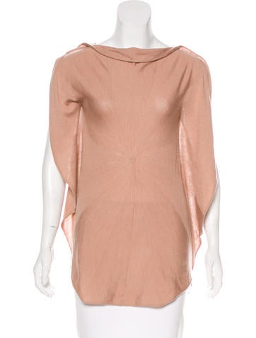 Valentino Wool Lace Top None