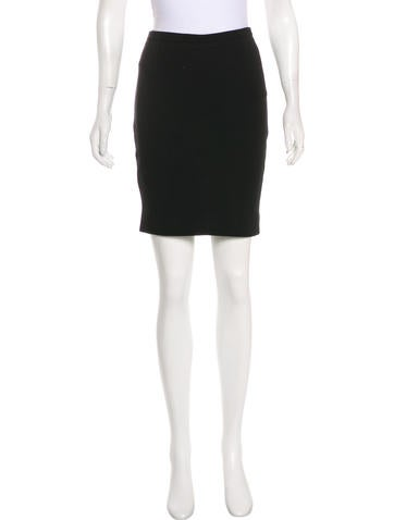 Valentino Mini Pencil Skirt None