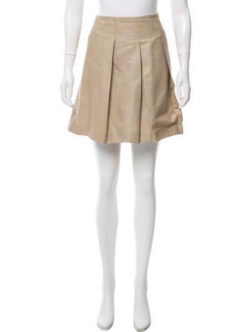 Valentino Paneled Mini Skirt None