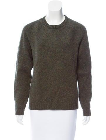 Valentino Crew Neck Wool Sweater None