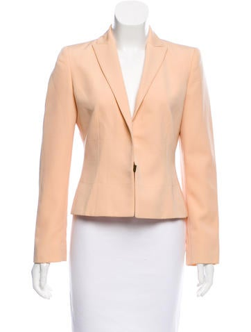 Valentino Structured Wool Blazer None