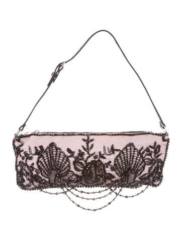 Valentino Embellished Evening Bag None