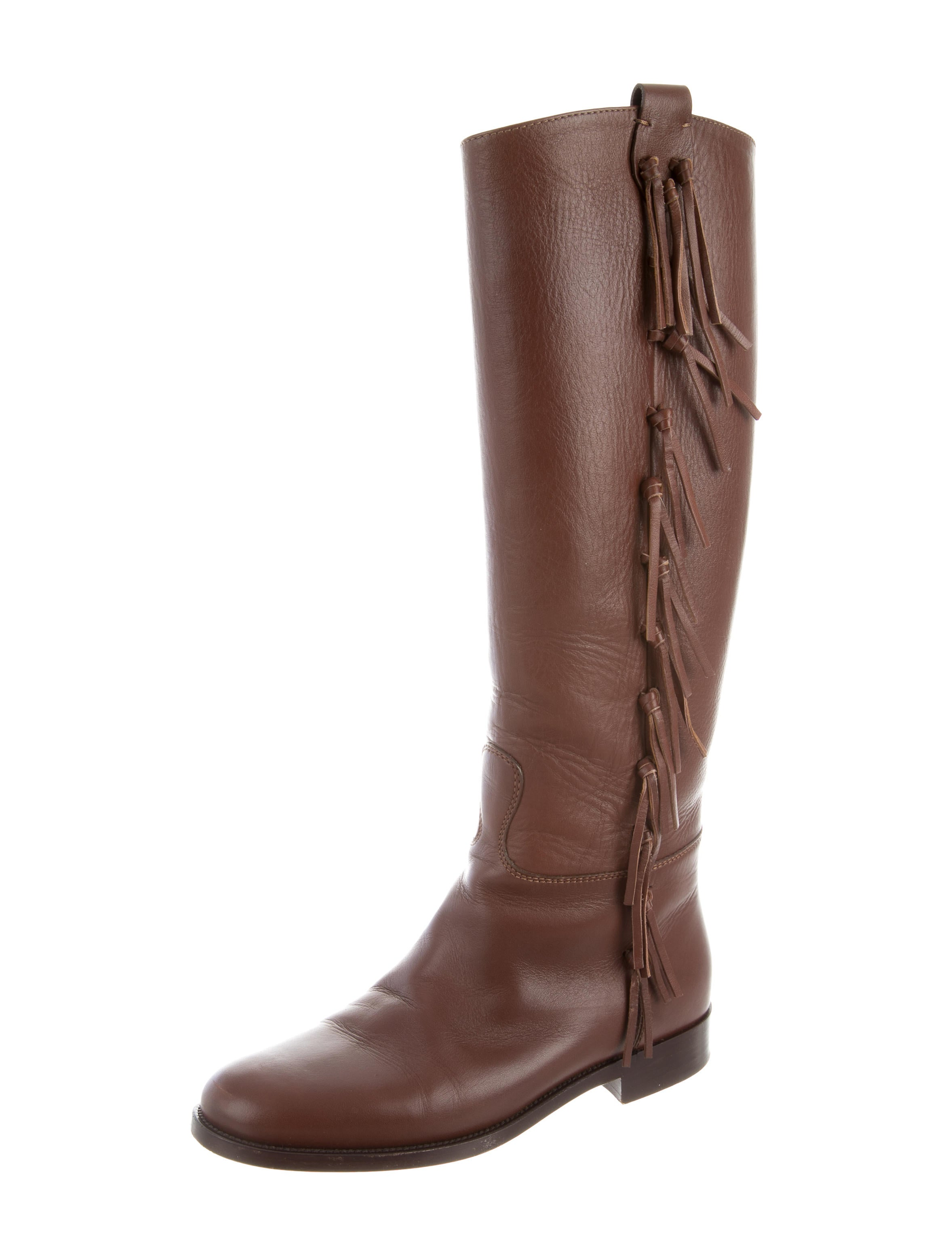 outlet 2015 buy cheap good selling Valentino Harry Fringe Boots outlet largest supplier cheap price fake outlet get to buy HvrO8AKhf