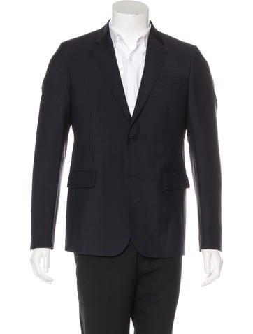 Valentino Virgin Wool Blazer w/ Tags None