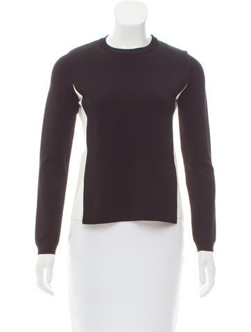 Valentino Colorblock Long Sleeve Top None