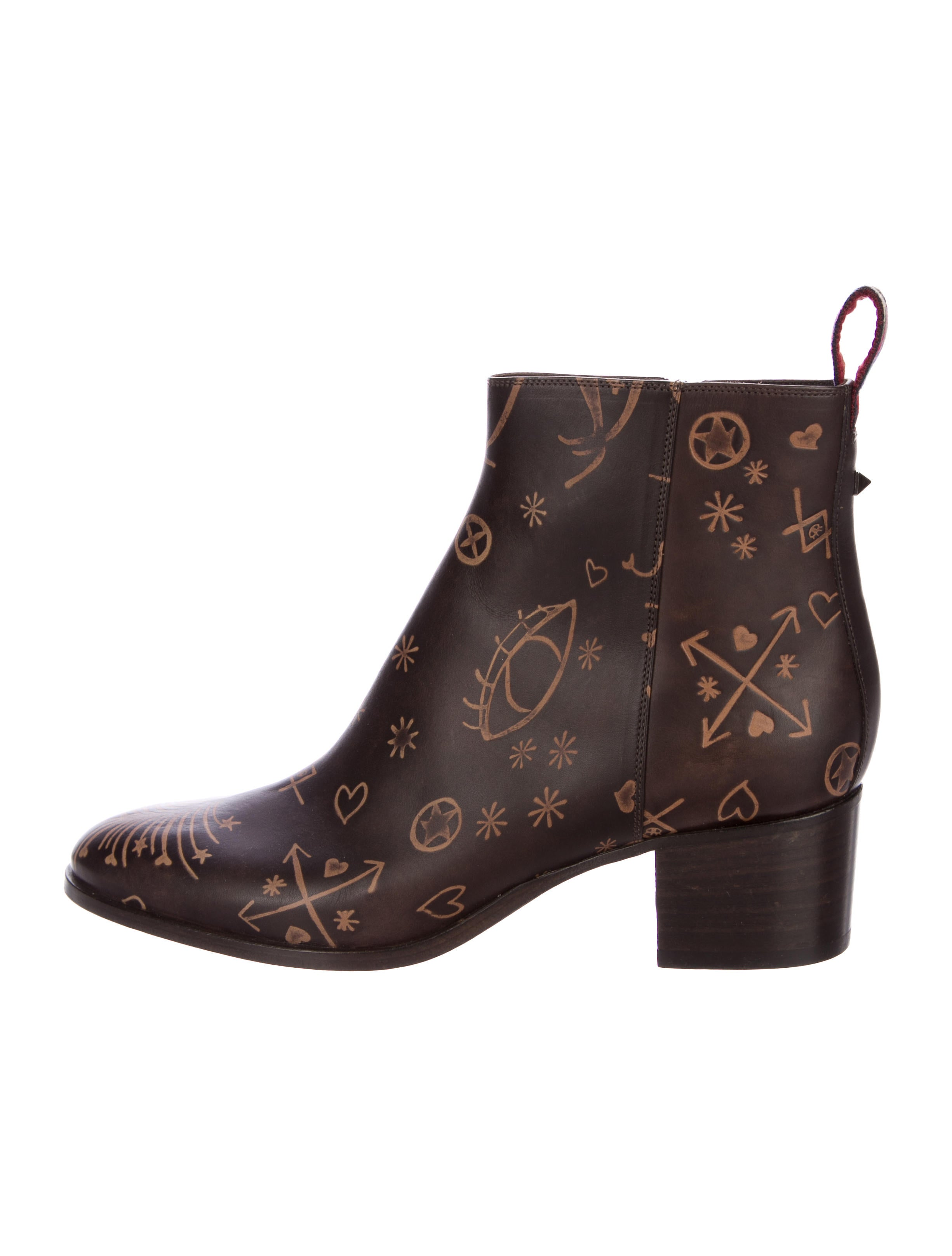 Valentino Santeria Rockstud Ankle Boots cost outlet store cheap price iYLa7x