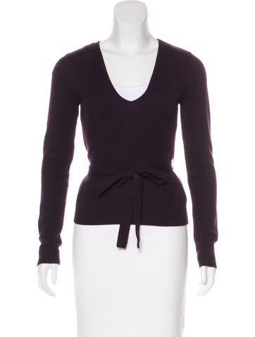 Valentino Wool V-Neck Sweater None