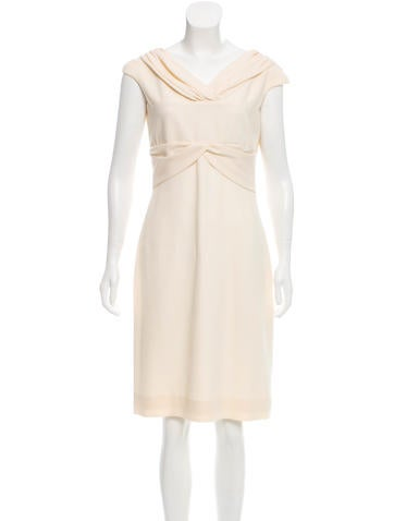 Valentino Sheath Wool Dress None