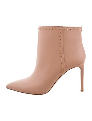 Valentino Rockstud Ankle Boots None