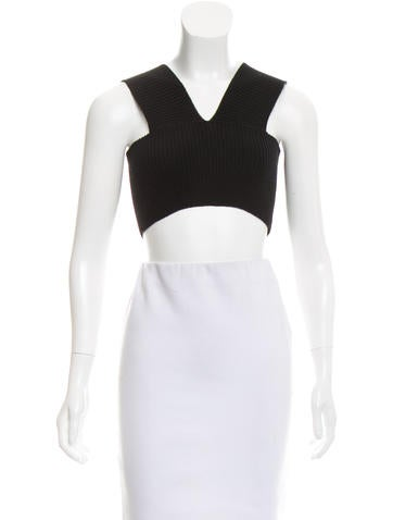 Valentino Wool Crop Top None