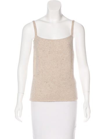 Valentino Wool & Cashmere-Blend Top None