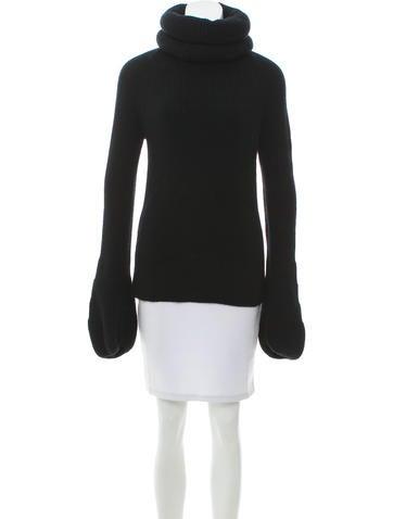 Valentino Oversize Turtleneck Sweater None