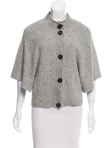 Valentino Button-Up Knit Cardigan None