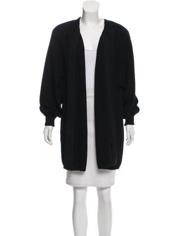 Valentino Wool Knee-Length Coat None